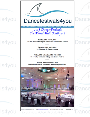 Dance Festivals 4 You home page