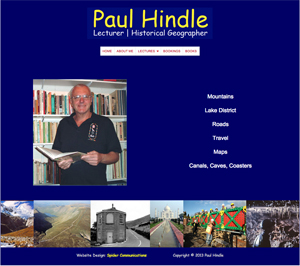 Paul Hindle home page
